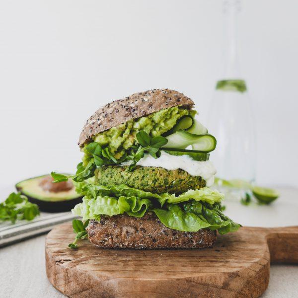 Green Goodness Burgers